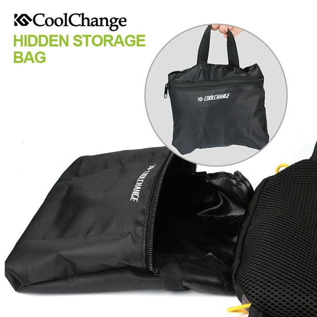 Coolchange saco de bicicleta ultraleve esportes à prova dultralight água respirável mochila saco de bicicleta portátil dobrável ciclismo mochila 3