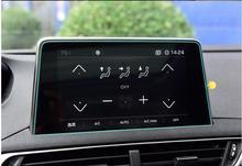 Di Navigazione GPS Per auto 3008GT In Acciaio Schermo Pellicola Protettiva Per Peugeot 2016 2017 2018 2019 Controllo di Autoadesivo Dell'automobile Dello Schermo A CRISTALLI LIQUIDI di trasporto