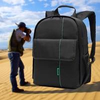 Outdoor DSLR Camera Travel Backpack For Mirrorless Camera Interchangable Lens kit Professional Full Frame Digital Camera