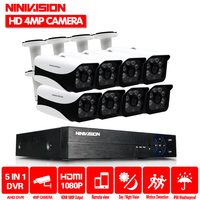 AHD Kit 8CH DVR Full HD 1 3MP AHD Camera Kit Day Night Vision IR Infrared