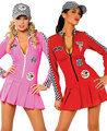 High Quality Sexy Cheerleader dancer clothes Cars Racing girl clothes Sexy car models motorcycle clothing wear Cosplay costume