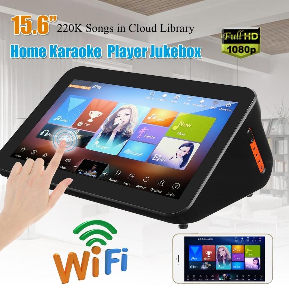 GymSong Tela de Toque Ktv Cantar Jogador Jukebox Sistema Karoake 3 tb Hdd Incluem 66 k Canção Karaoke Android Chinês Máquina