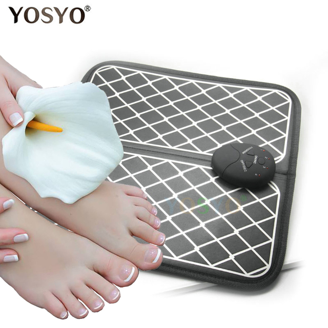 Electric EMS Foot Massager  Physiotherapy Revitalizing Pedicure Tens Foot Vibrator Wireless Feet Muscle Stimulator Unisex