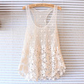 2016 Summer Style Women Sexy Hollow Out Beach Cover Ups Lace