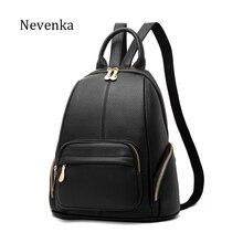 Nevenka Для женщин Винтаж рюкзак Для женщин высокое качество Повседневное молнии Рюкзаки Дамы бренд Travle Сумки Женские Простые softback мешок