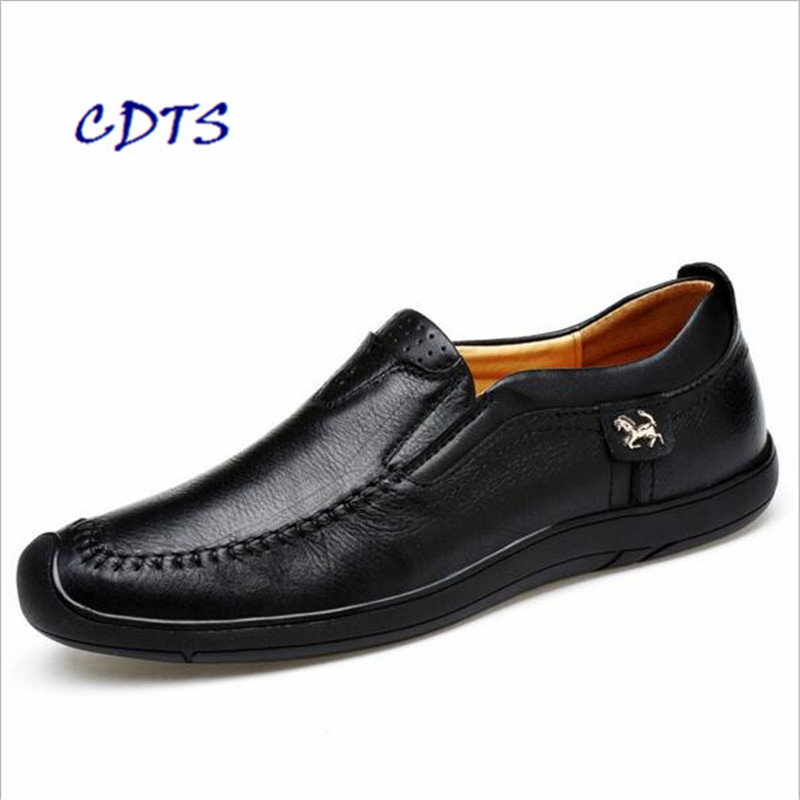 Spring Autumn high quality Men Shoes Comfortable Genuine Leather Male Driving custom handmade Soft-bottom Zapatos Free Shipping
