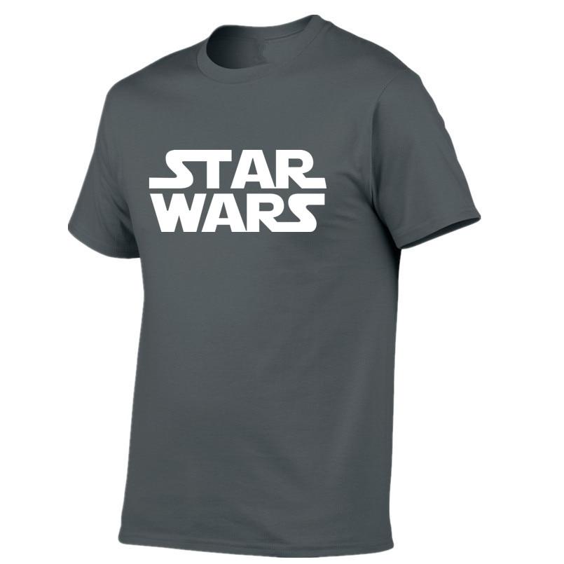 Star Wars Printed Mens Men T Shirt Camisetas Masculinas 2018 Manga Curta Camisa Masculina Tshirt Size XS-2XL