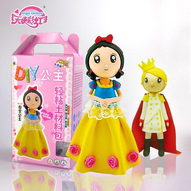 Children Diy Plasticine Educational Toys Diy Clay Disney Baby Play Dough  Drawing Toy Foam Clay Indoor Mold Tool Magic Xmas Gift