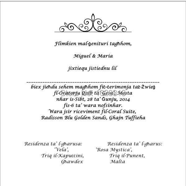 Personalized wedding stationary invitation card print service 50pcs