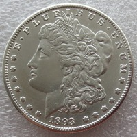 90% Silver Date 1893 S Morgan Dollar Copy Coin Weight 26.70 26.73 Grams Make New Or Old Free Shipping