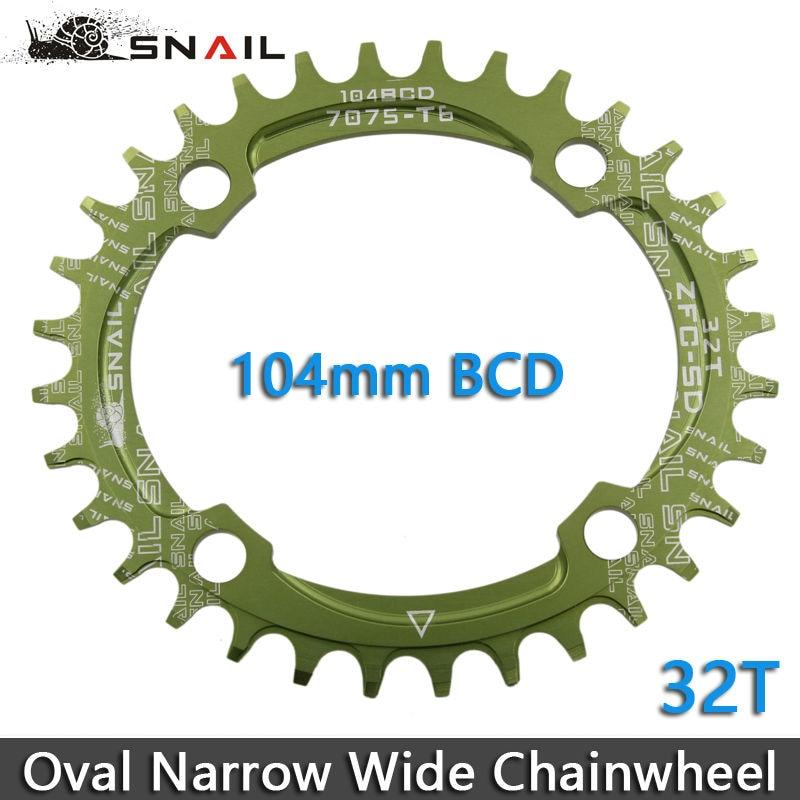 SNAIL 104BCD 32T / 34T / 36T Ultralight A7075 Alloy MTB Bike Bicycle - Հեծանվավազք - Լուսանկար 6