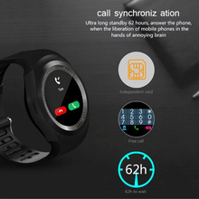 Smart Watch Support Facebook/Whatsapp TF SIM Male Business Bluetooth Smart Watch Women's Sports Tracking/ Fitness Tracker Watch