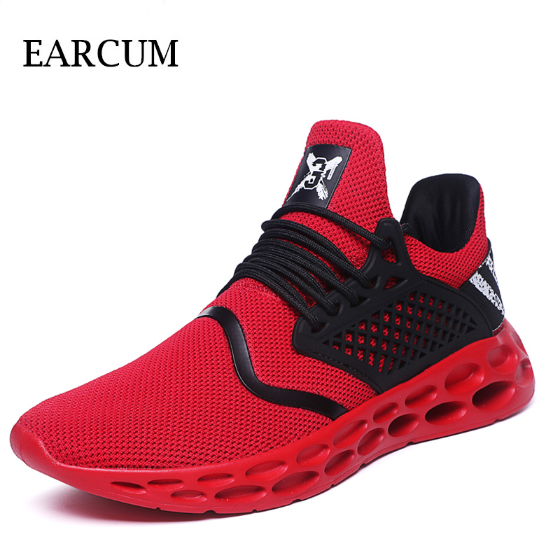 2018 Mens Trainers baskets homme New Men Shoes Fashion Sneakers Walking Man Casual Shoes Mesh Comfortable Male Footwear 2018 summer new men shoes breathable mesh sneakers outdoor mens shoes casual male anti slip trainers man plus size footwear