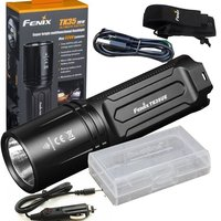 Fenix TK35 2018 3200 Lumen Ultimate Edition (TK35UE) USB Rechargeable Tactical LED Flashlight with holster,car charger