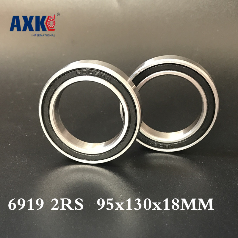 2018 New Limited Rolamentos Rodamientos Thrust Bearing 6919 2rs Abec-1 95x130x18mm Metric Thin Section Bearings 61919rs 6919rs 2018 hot sale time limited steel rolamentos 6821 2rs abec 1 105x130x13mm metric thin section bearings 61821 rs 6821rs