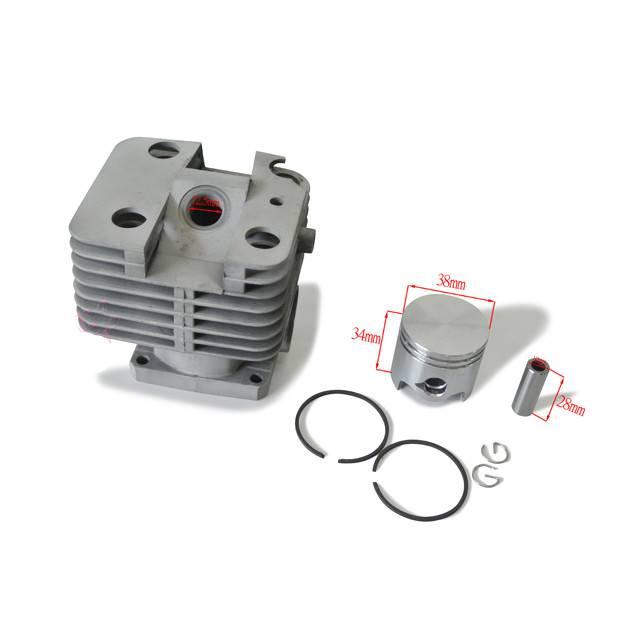 38mm Cylinder Piston Fit STIHL FS250 FS200 FS200R FS120 BT120 121 Brush Cutter цена