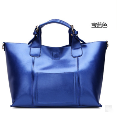 Ladies Composite Bags High Quality PU Leather Women Handbags Luxury Shoulder Bags Woman Black Tote Bags Mujer 2017 blue/silver classic black leather tote handbags embossed pu leather women bags shoulder handbags elegant