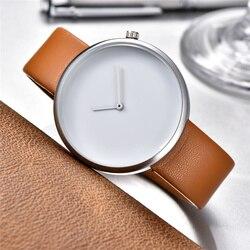 Minimalist Style Creative Wristwatches Black White New Design Simple Stylish Quartz Fashion Unisex Watches Gift reloj mujer