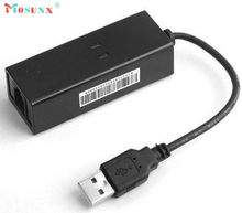 Top Quality Hot Sale New USB 56K V.90 V.92 External Dial Up Voice Fax Data Modem for Win XP VISTA 7 8 Linux JUL 15(China)