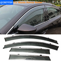 Car Stylingg Awnings Shelters 4pcs/lot Window Visors For Mazda Atenza Sedan 2014-2017 Sun Rain Shield Stickers Covers