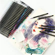 Soft 24/48 ภาพวาดแปรงชุดปากกามังงะการ์ตูนเครื่องหมายสีน้ำปากกาแปรงศิลปินอุปกรณ์ สี