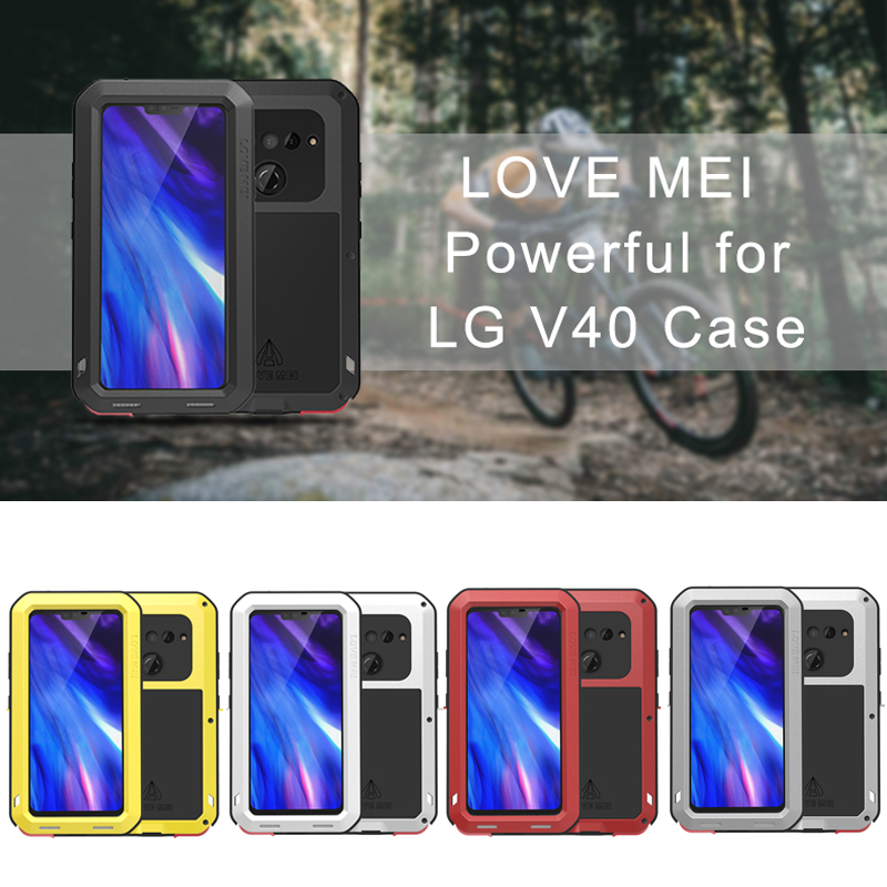 For LG V40 Case Waterproof Cover for LG V40 V 40 Aluminum Metal Shockproof Case For LG V40 Protection Cover LGV40For LG V40 Case Waterproof Cover for LG V40 V 40 Aluminum Metal Shockproof Case For LG V40 Protection Cover LGV40