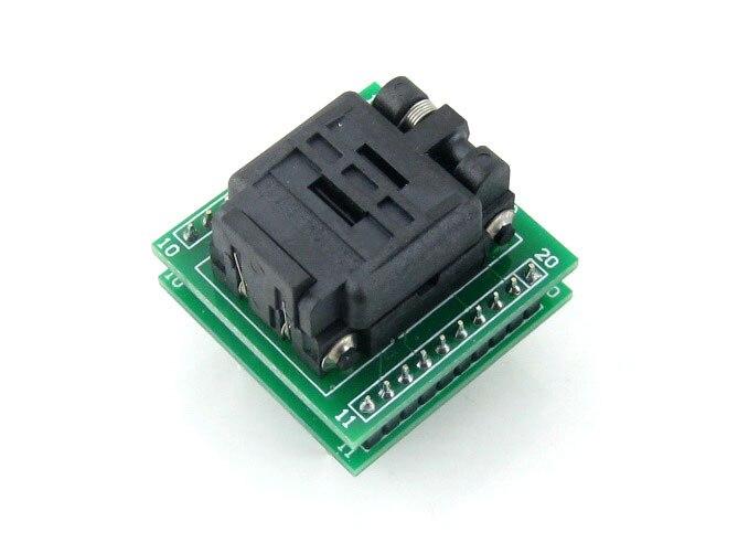 все цены на  module Waveshare QFN20 TO DIP20 Plastronics QFN IC Programmer Adapter Test Socket 3 * 3 mm 0.4 Pitch for QFN20 MLF20 MLP20 Packa  онлайн