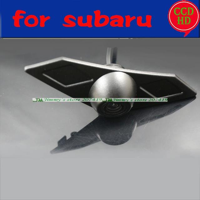 for Subaru XV 2014 front positive view camera car front park camera ccd night vision waterpoof wide angle
