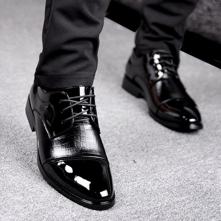 Zapatos Genuino Hombre Cuero HombreVestir De Para lJTFK31c