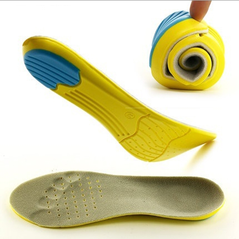 Breathable Deodorant Orthopedic Insert Pad Unisex Foot Valgus Care Tools Soft Memory Shoe Insoles Running Arch Support Cushion