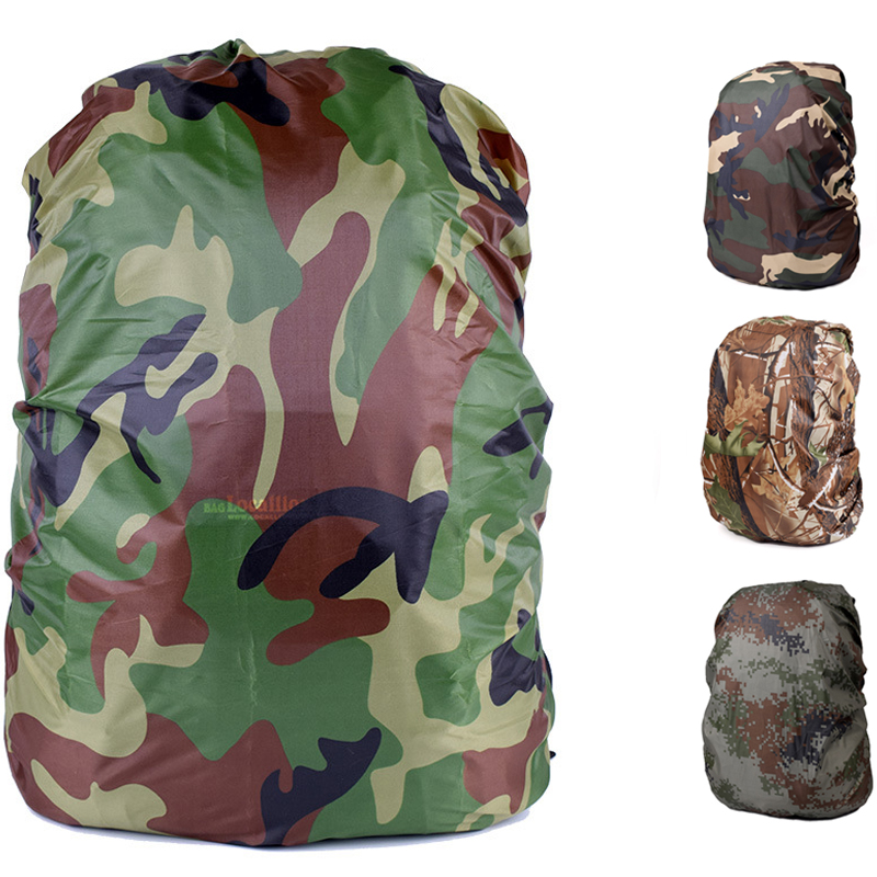 ec46fbf677 30-40L Waterproof Backpack Cover Rain Cover For Outdoor Sports Backpack  Military Tactical Hunting Combat Paintball Bags Rucksack