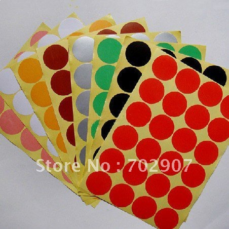 Wholesale 800 pcs lot red color sticker circle labels round 32 mm for package seal in patches from home garden on aliexpress com alibaba group