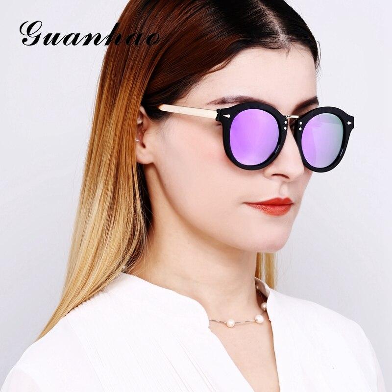 a8486917e5a 2018 Women Sunglasses Female Tide Korean Fashion Polarized Sunglasses Round  Face Avant garde Personality Sunglasses Female Eyes-in Sunglasses from  Apparel ...