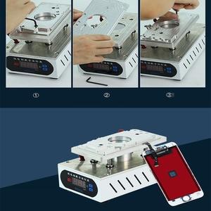 Image 5 - חזרה כיסוי נפרד מכונת שבור בחזרה מסך זכוכית Remover עבור iPhone XS מקס/XR/XS/ X/ 8G /8P טלפון תיקון מכונה