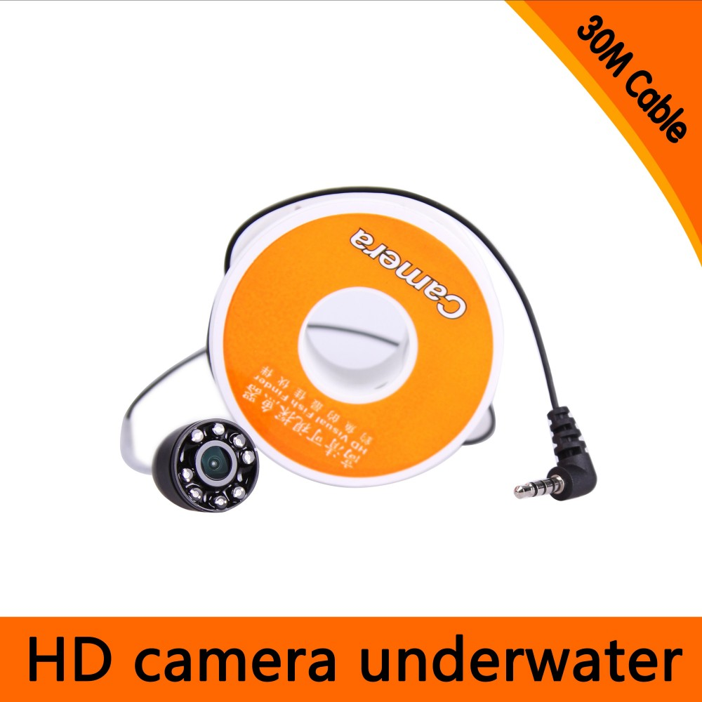 30Meters Depth  Mini Underwater Camera with 8pcs of White LED for Fish Finder & Diving  Camera30Meters Depth  Mini Underwater Camera with 8pcs of White LED for Fish Finder & Diving  Camera