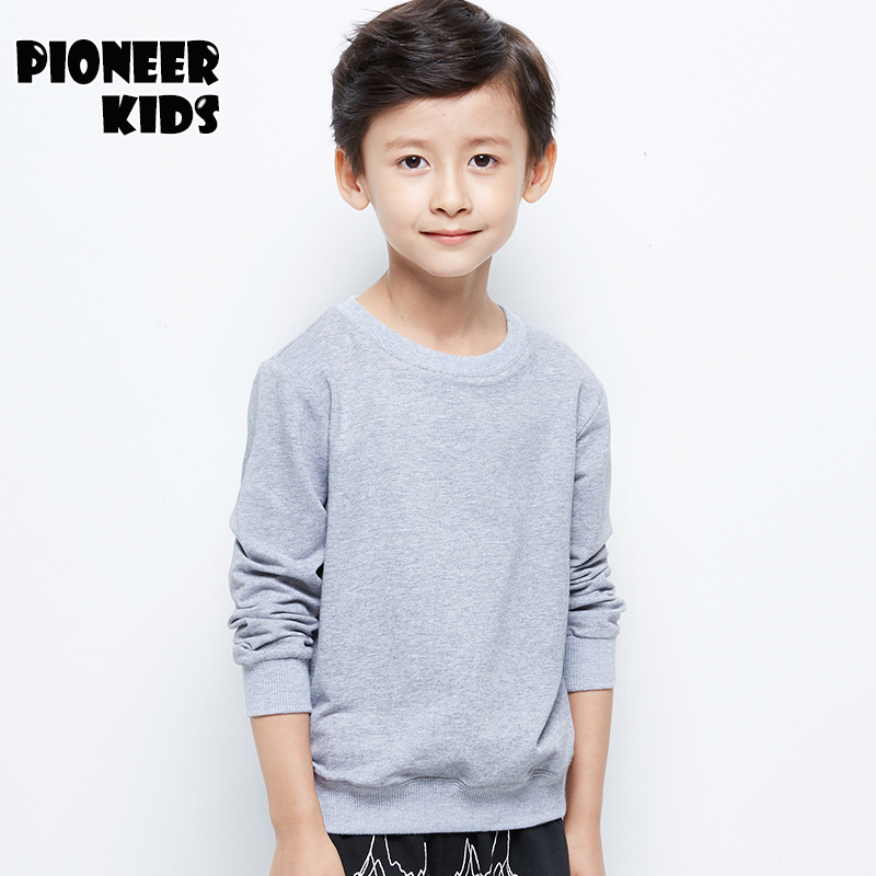 Pioneer Kids New 4T-14T Children Boys Tops Kids Clothes Long Sleeve - Children's Clothing - Photo 2