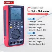 UNI T UT81B/C handheld digital oscilloscope multimeters 8MHz/16MHz 4000 Counts Scope Digital Multimeters USB Interface PC Soft