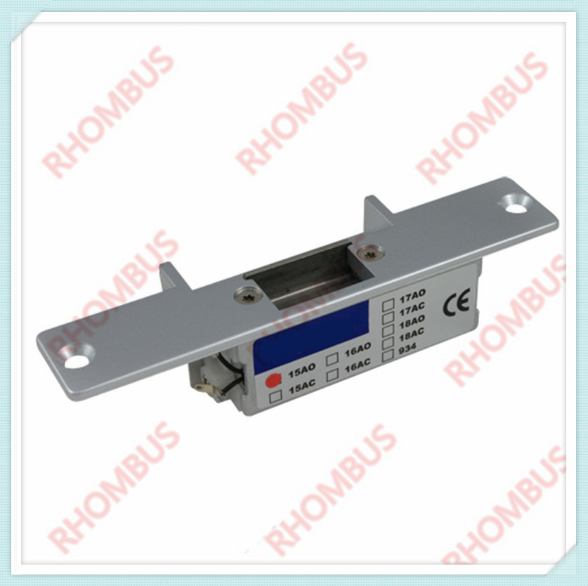 FCL-15AO holding force 1800Kg for wooden doors power off close stainless steel Electric strikes LockFCL-15AO holding force 1800Kg for wooden doors power off close stainless steel Electric strikes Lock