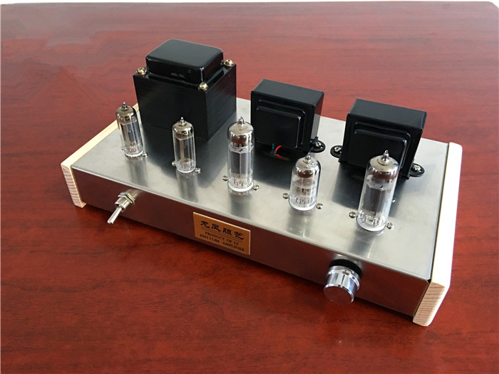 [DIY KIT] New 6N2 Push 6P14 DIY Tube Amplifier Kit Dual 6Z4 Tube Rectifier HIFI Amplifier finished 6n2 push 6p1 double 6z4 tube amplifier tube rectifier amplifier