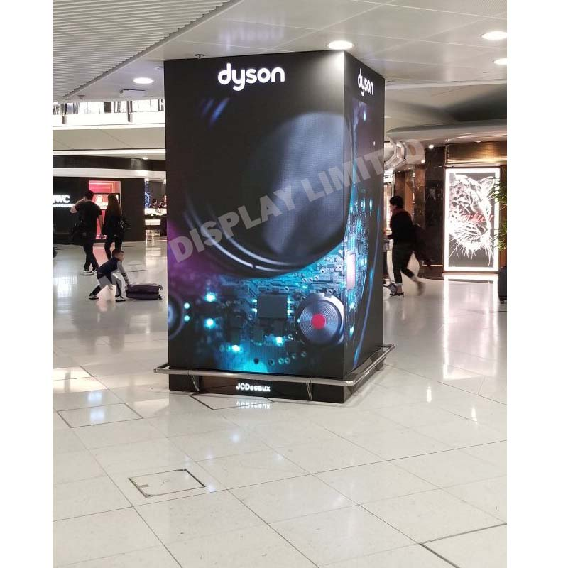 Ultra clear hd p2.5 video led screen, magnesium alloy cabinet, high refresh rate RGB smd indoor television video wall
