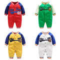 2017 new sport style bebes boy clothes 0-24M baby rompers Leisure outwear infant clothing china  imported baby clothes for girl