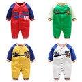 2017 nuevo estilo de deporte de bebes boy ropa 0-24 M del bebé de los mamelucos Ocio outwear la ropa infantil bebé importados de china ropa para chicas