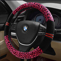 High-density new plush steering wheel cover winter 38cm car steering wheel diameter