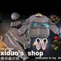 Conjuntos de roupas de inverno crianças Lantejoulas hoddies + meninos calças 2 pcs crianças meninas meninos ternos grosso peles falsas amierican estilo meninas outfits