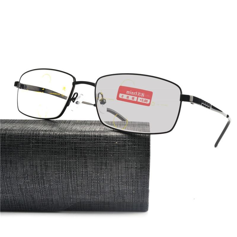 Acheter Nouveau Multifocales Progressives lunettes Transition Lunettes De  Soleil Photochromiques Lunettes de Lecture Hommes Points pour 2910c7cbb9bd