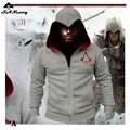 Fashion Men Assassins Creed Hooded Sweatshirt Hombre Autumn Winter Solid Hoodie Sweatshirts Men Cosplay Chadal Cool Clothing 3XL