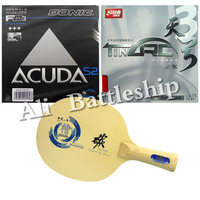 Original Sanwei HC 5 Blade DHS TinArc3 Donic ACUDA S2 Rubber With Sponge For A Table