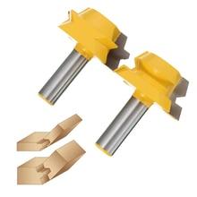 High Quality 2pcs Professional Rail Stile Router Bit 1 2 inch Shank font b Woodworking b