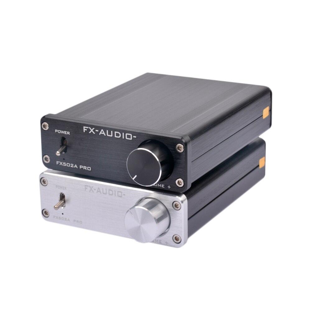 FX-Audio FX502A PRO HIFI 2.0 TA2024 TA2021 Pure Digital Audio High-power Mini Home Hifi Amplifier 50W*2 Without Power Plug amplifiers 2017 fx audio fx1002a 160w 2 tda7498e hifi 2 0 pure digital audio power amplifier mini home aluminum enclosure amp