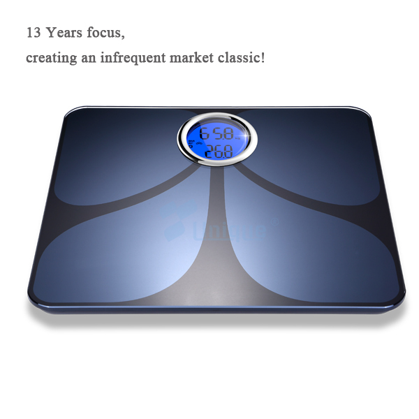 Digital Bluetooth Body Fat Scale CF366BLE Smart Digital Bluetooth Bathroom  Scales For Body Weight/water